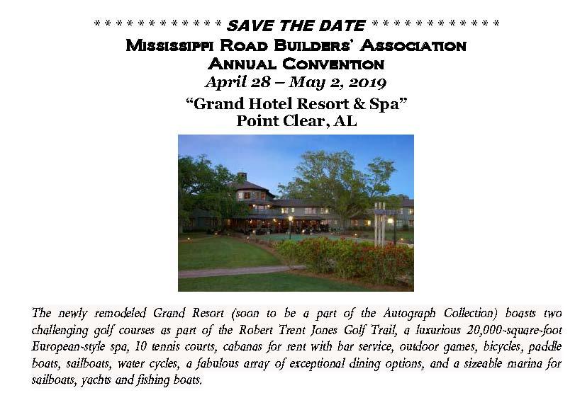 MS Road Builders Association :: Membership Information